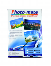 Photo-mate Premium Glassy Inkjet Paper 130 G