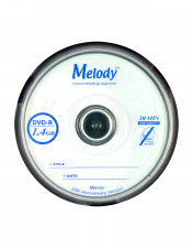 Melody DVD-R 1.4GB/30 Min High Quality 20th Anniversary Version
