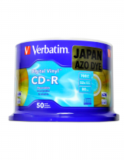 Verbatim CD-R Digital Vinyl 80min/700MB/52X 50 Discs