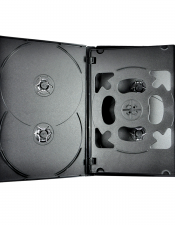 DVD 6-Disc Case Black