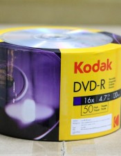 Kodak DVD-R 16X 4.7GB Pack 50