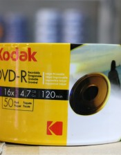 Kodak Printable DVD-R 16X 4.7GB Pack 50